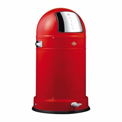 Wesco Kickboy Classic 40 liter afvalemmer rood.  (per stuk)