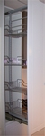 Apotheekbeslag 60cm hoogte vanaf 1310 t/m 1710mm Chroom (per stuk)