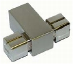 B016 Middenstuk voor Buis Tube 18x18mm (J23320) (per stuk)