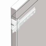 Sleepdeurgeleider (verbinding tussen meubel- & koelkastdeur) (per stuk)