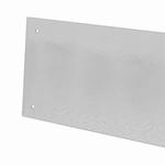 Backboard saver 600x200mm (brxh) met 4 schroefgaatjes (per stuk)