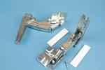Koelkastscharnieren deur-op-deur o.a. Siemens / Bosch (per set)