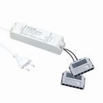 LED 12 Volt trafo 12 V/30 W dimbaar wit. (per stuk)