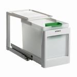 Stala model 1 K - 21 liter afvalemmer wit. (per stuk)