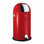 Wesco Kickboy 40 liter afvalemmer rood. (per stuk)