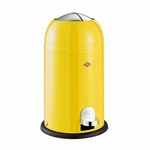 Wesco Kickmaster Junior 15 liter afvalemmer geel. (per stuk)