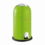 Wesco Kickmaster Junior 15 liter afvalemmer lime green. (per stuk)