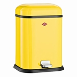 Wesco Single Boy 13 liter afvalemmer geel. (per stuk)