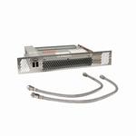 Plint-Heater/Kickspace CV - 2600 Watt zwart. (per stuk)