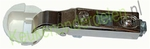 Glasscharnier 110° ø 26mm compleet met grondplaat (clip) (per stuk)