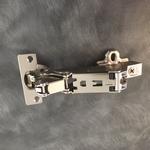 Hettich scharnier 165° ø 35mm compl.met grondplaat (clip) (per stuk)