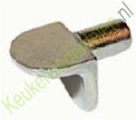 Volmetalen schapdrager voor boring ø 5mm (per 10 stuks)